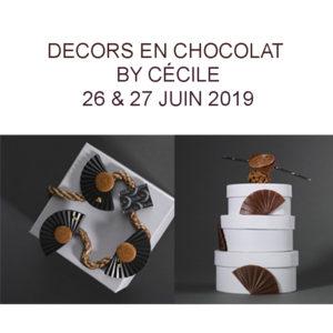 Décors en Chocolats juin